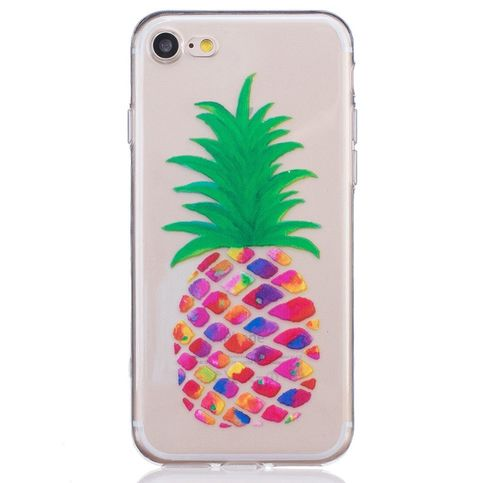 Gekleurde Ananas Transparant